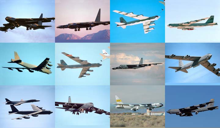 Lockett Books Calendar Catalog: Boeing B-52 Stratofortress