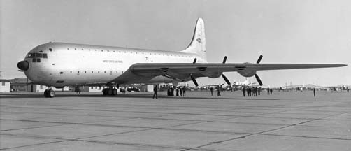 Convair XC-99 at Edwards Air Force Base
