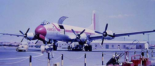 Douglas C-74 Globemaster 42-65408 in Nicosia on September 17, 1963
