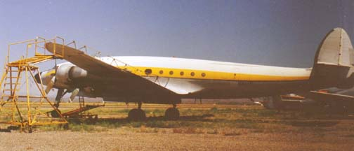 VC-121A, 48-0611 at Falcon Field, Mesa, Arizona on August 23, 1979