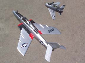 RF-84K and XF-85 completed