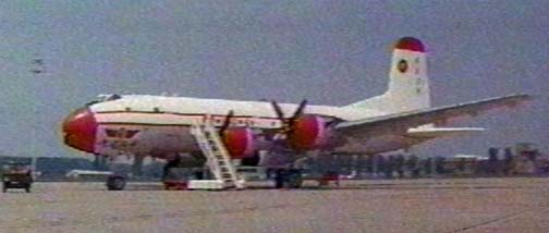 "Douglas C-74 Globemaster appearing in the film ""The Italian Job"""