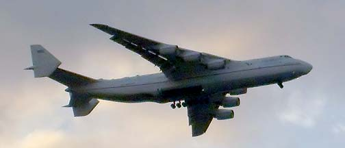 Antonov An-225 Mriya at Houston, November 21, 2007