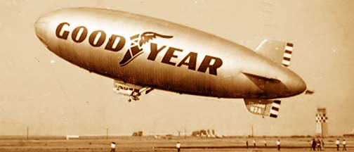 Goodyear blimp Columbia N3A, Goodyear March 1971