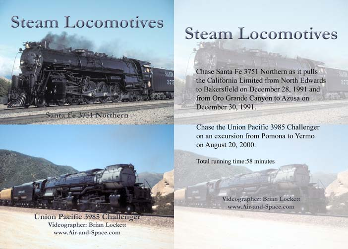 Steam Locomotives DVD