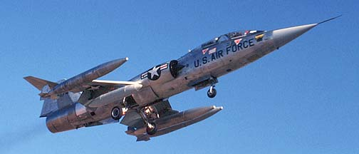 Lockheed TF-104G Starfighter, December 17, 1979