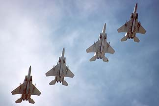 McDonnell-Douglas F-15 Eagles, December 17, 1984