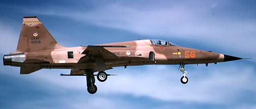 Northrop F-5E Tiger II 74-1558, December 17, 1984