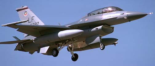 General Dynamics F-16D Fighting Falcon 84-1397, November 25, 1986