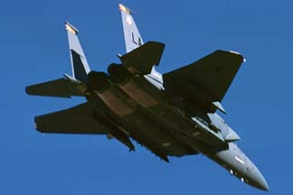 McDonnell-Douglas F-15E Strike Eagle, December 27, 1988