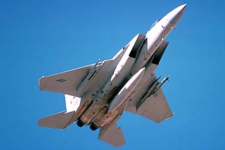 McDonnell-Douglas F-15D Eagle, March 14, 1990