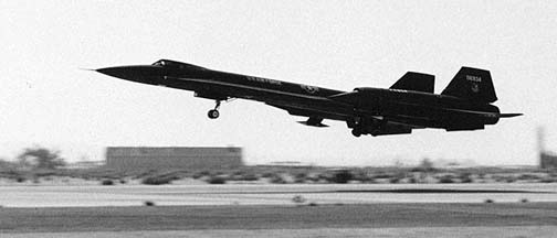 Lockheed YF-12A 60-6934, Edwards AFB, 1964