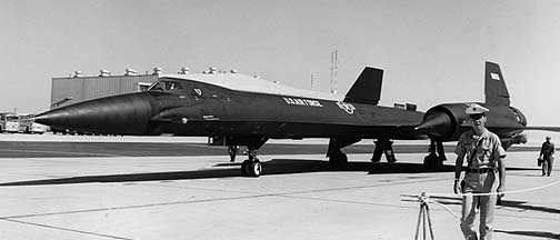 Lockheed YF-12A 60-6936, Edwards AFB, 1964