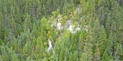 Wreckage of B-36H, 51-5729 in Labrador