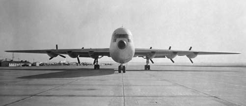 Convair XC-99 at Edwards AFB