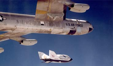 NB-52B launches X-38, V-132 on July 9, 1999