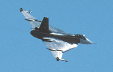 Sunday flight demonstrations of the Edwards AFB 1999 Airshow.