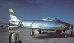 Canadair Sabre Mk. 6 owned by Michael Dorn