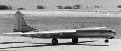 Convair XB-36 First Flight