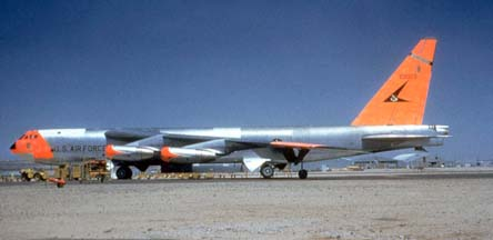 NB-52A, 52-0003 at Edwards AFB, 1960