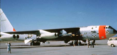 NB-52A, 52-0003 and X-15 at Edwards AFB Open House, May 16, 1965