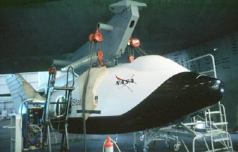 X-38, V-131 Space Station Lifeboat parachute recovery system demonstrator