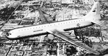 Convair XC-99 in flight