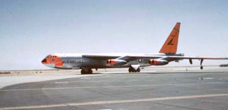NB-52A, 52-0003 at Edwards AFB, May 1960