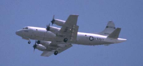 P-3 Orion observation plane