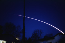 Delta II/Iridium launch, February 18 1998