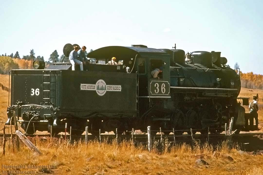 Goleta Air & Space Museum - Steam Locomotives