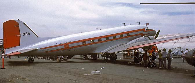 Air-and-Space com, Douglas DC-2 and DC-3