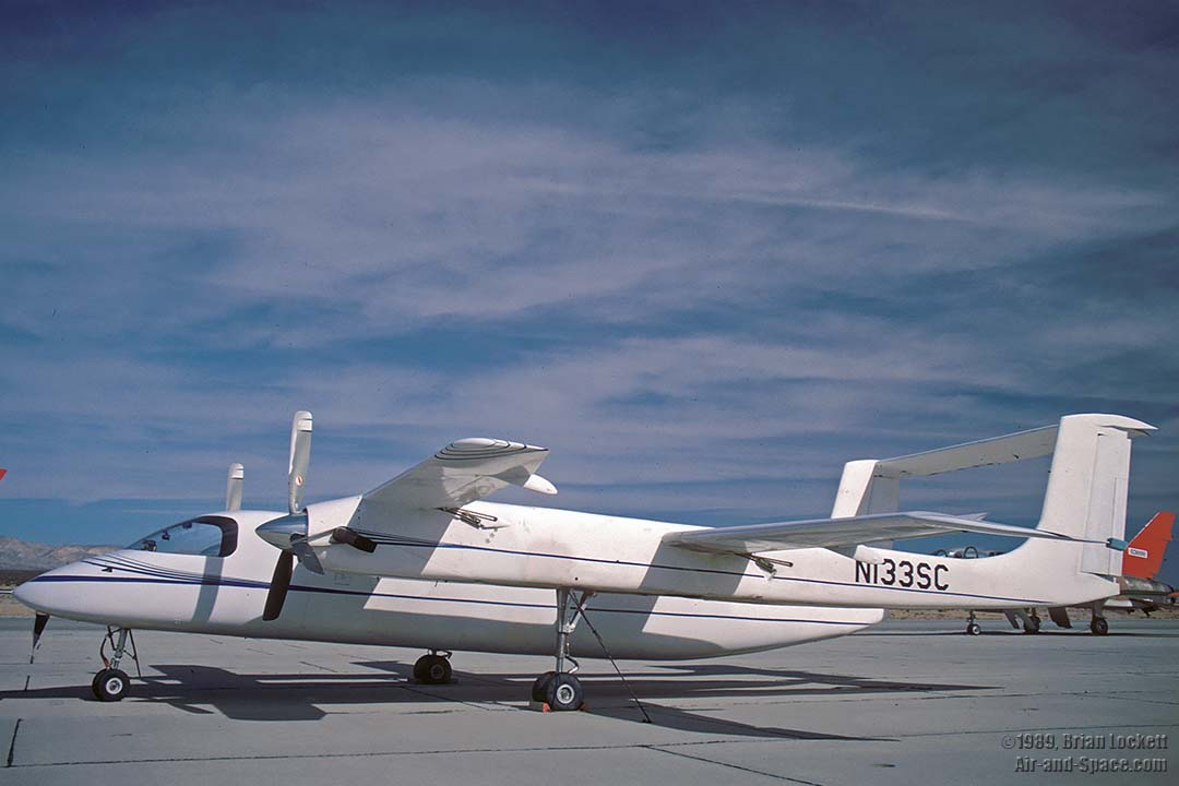 Goleta Air and Space Museum: Rutan and Scale Composites