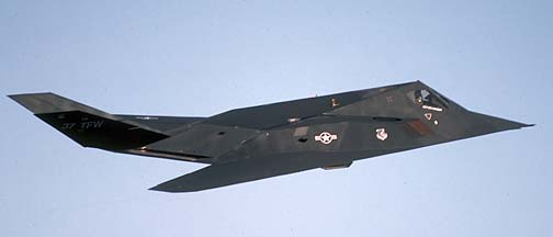 Goleta Air and Space Museum: Lockheed F-117A Stealth Fighter