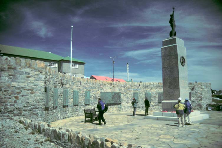 Construction Blue Book >> Antarctic Voyage - January 20: Stanley, Falkland Islands