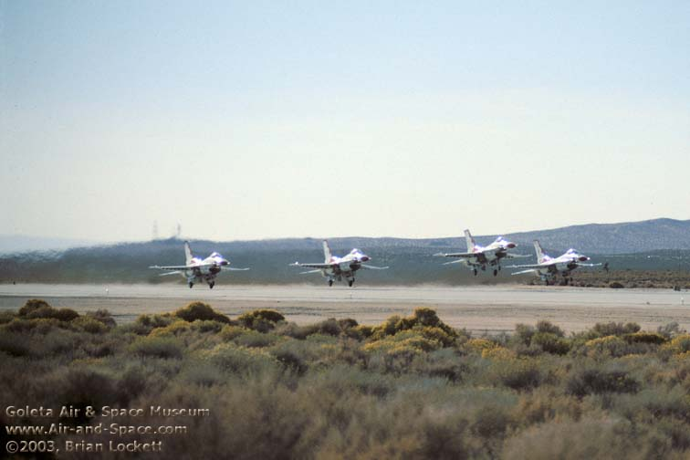 Goleta Air and Space Museum: 2003 Edwards AFB Open House