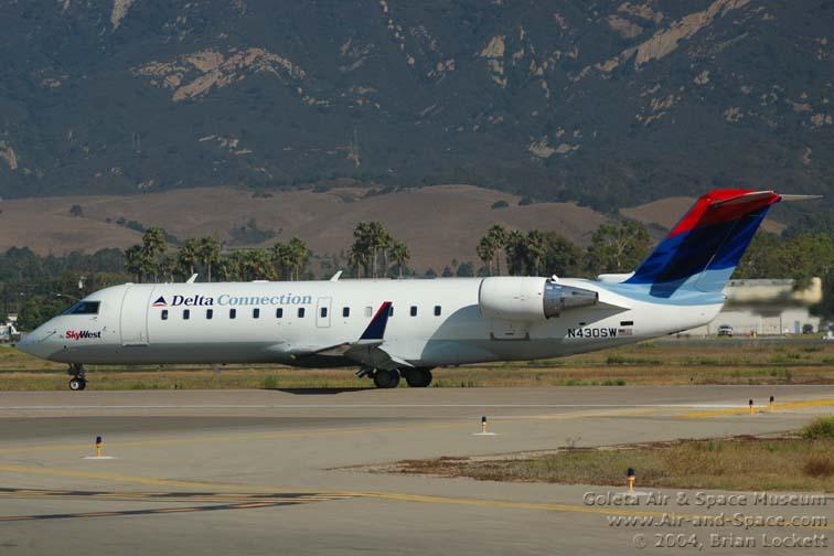 Delta Connection Bombardier CL-600-2B19 Regional Jet, N430SW