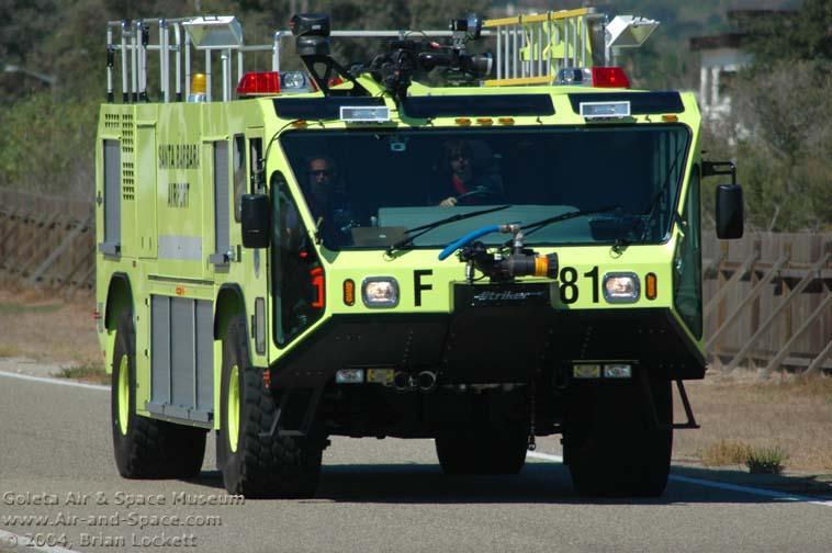Santa Barbara Airport fire truck F81