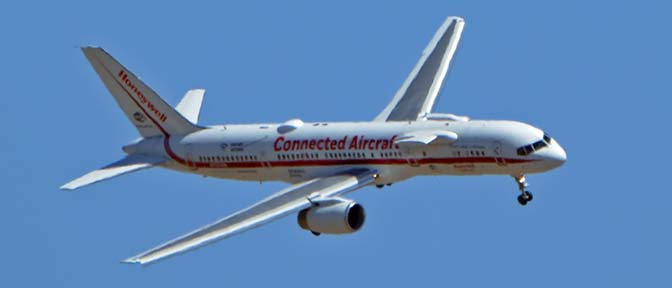 Air-and-Space com, Honeywell 757 Engine Testbed N757HW