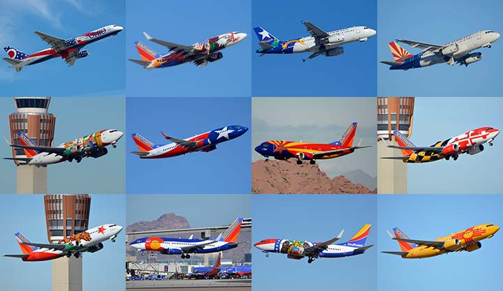 air and space com novelty airline liveries