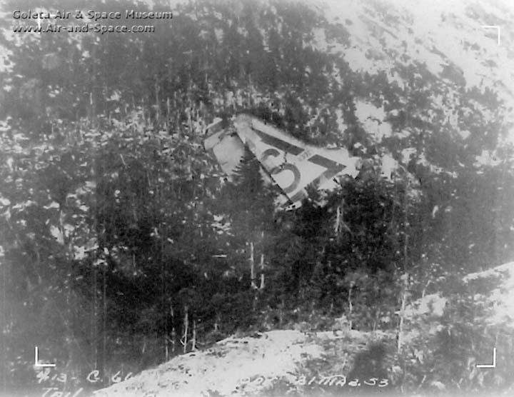 Goleta Air and Space Museum: Convair B-36 Crash Reports and Wrecks
